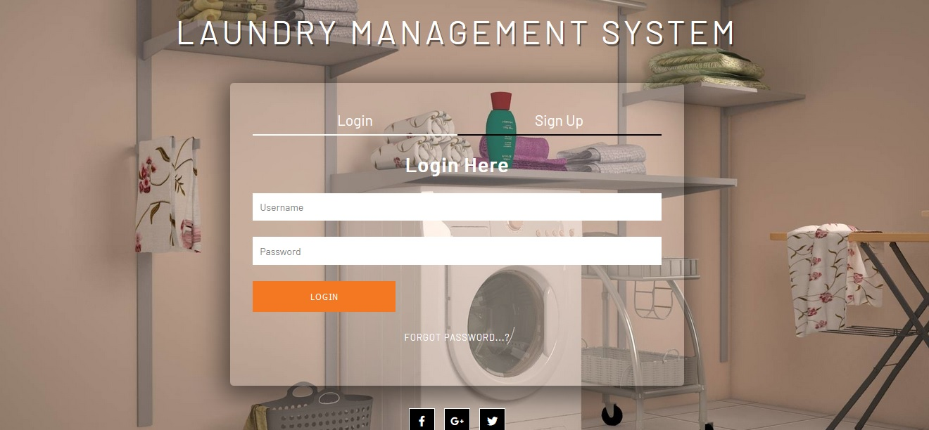 Bussinessea - Laundry Management System